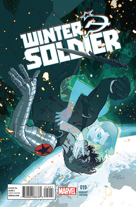 Jason Latour Previews the Final issue of Winter Soldier on his blog!